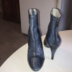 Kenneth Cole New York Reptile Ankle Boots